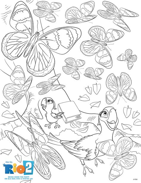 free rio 2 coloring pages mommy s busy go ask daddy