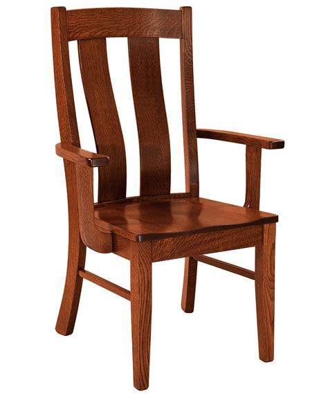 Handmade Furniture Usa - f n amish chairs arm chair leather seat amish
