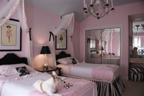 Pink And Black Home Decor by Pink Amp Black Girls Rooms Design Dazzle