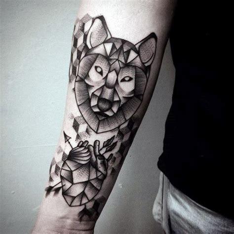 90 geom 233 trica del lobo dise 241 os de tatuajes para los