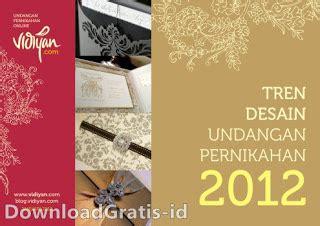 download desain kartu undangan pernikahan gratis ebook contoh kartu undangan pernikahan trend undangan