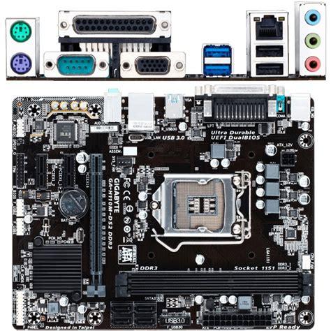 Gigabyte Ga H110m Ds2 Sochet 1151 gigabyte ga h61m ds2 rev 1 0 s1155 2xddr31333 vgad sub 1xpci e x16 2xpci e x1 8xaudio gbl