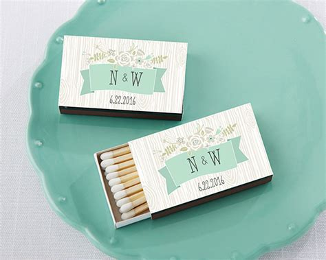 wedding favors matchboxes personalized black wedding matchboxes rustic my