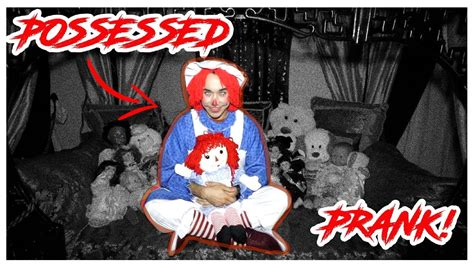 annabelle doll possessed possessed annabelle doll prank haunted house wrong