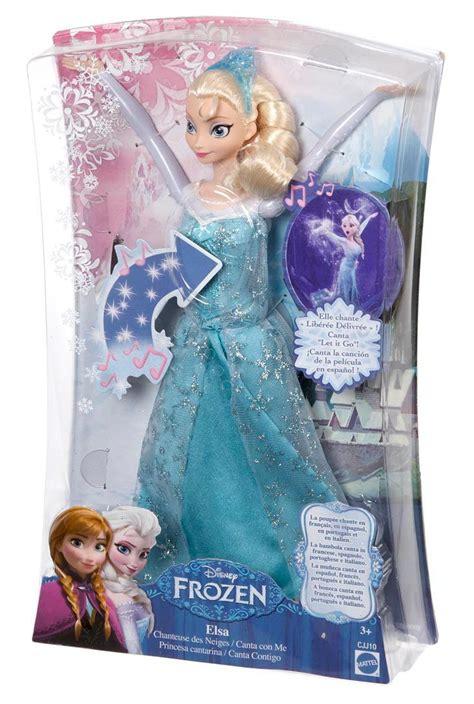 film barbie qui chante la reine des neiges poup 233 e mannequin elsa chanteuse