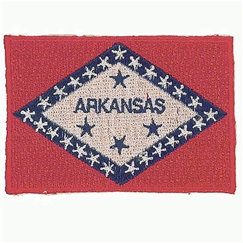 patch arkansas embroidered flag patches american patch