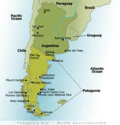 patagonia south america map map of patagonia patagonia argentina map