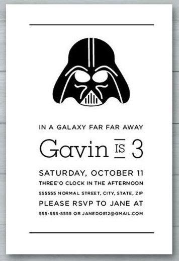 imagenes feliz cumpleaños star wars 35 invitaciones y tarjetas de cumplea 241 os de star wars