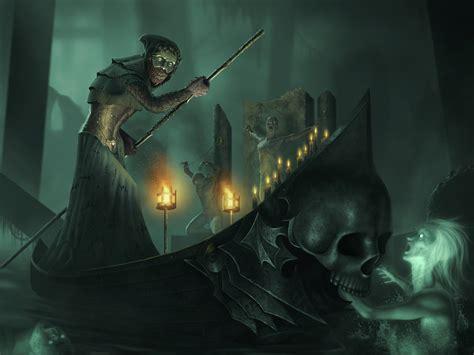 The Styx the river styx by igorivart on deviantart