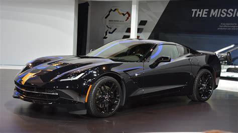 corvette black widow 2014 black widow chevrolet corvette at the chicago auto