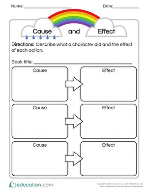 Cause And Effect Worksheets 2nd Grade by 2nd Grade Reading Worksheets Free Printables Education