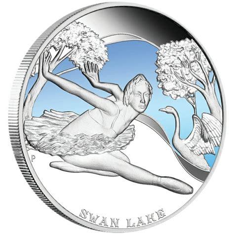 colored coins quot ballets quot 2010 series five silver colored coins set