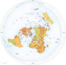 World Flat Map by Detailed Flat Earth Map Flat With Dome Pinterest