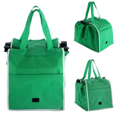 Trolley Eco Bag 2 bags set reusable eco grocery cart shopping trolley bags