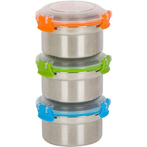 Sealer Penutup Bungkus Snack Size L steelware snap seal leak proof stainless steel lunch box containers c2 ebay