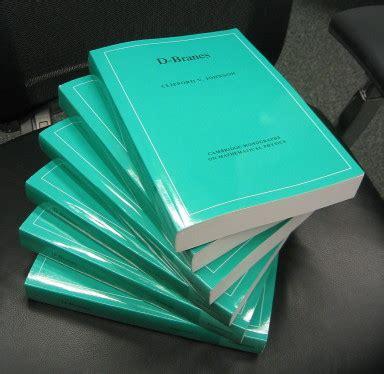 I D Paperback d branes in paperback asymptotia