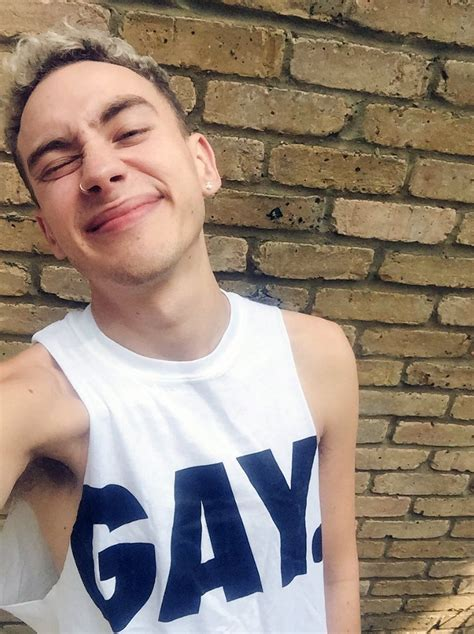 g ay years and years lead singer olly alexander reacts to