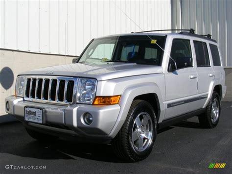 jeep commander silver 2010 bright silver metallic jeep commander sport 4x4