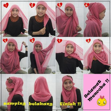 gallery hijab segitiga modern