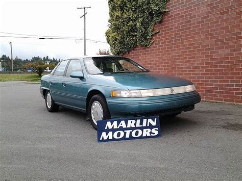how to sell used cars 1993 mercury sable navigation system 1993 mercury sable gs koksilah british columbia car for sale 2274308