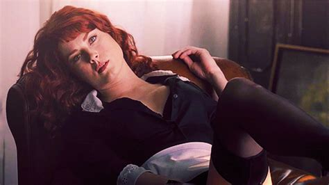 alexandra breckenridge is dead for fhm the walking dead who knew the looked so sofa
