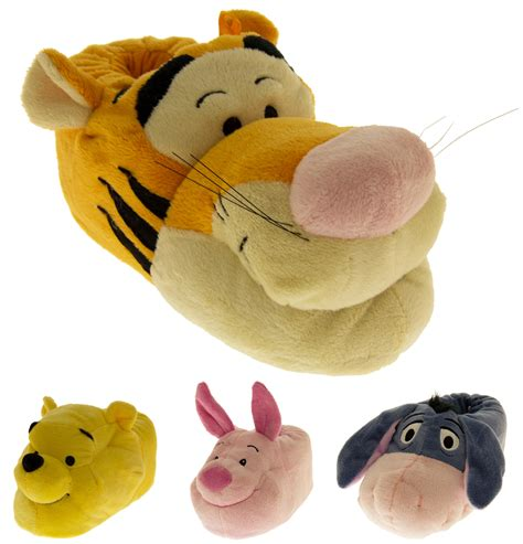 pooh slippers boys winnie the pooh novelty slippers disney