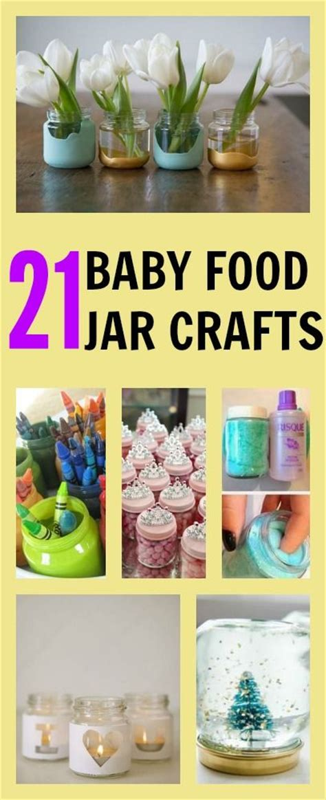 baby food jar crafts for the world s catalog of ideas