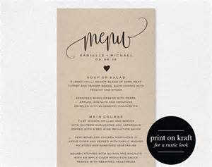 Wedding Menu Sles Templates by Les 25 Meilleures Id 233 Es De La Cat 233 Gorie Template Menu Sur
