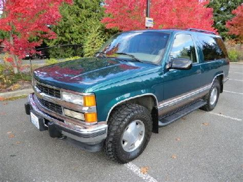 2 Door Tahoe Diesel by Find Used 6 5 Liter Turbo Diesel 1996 2 Door