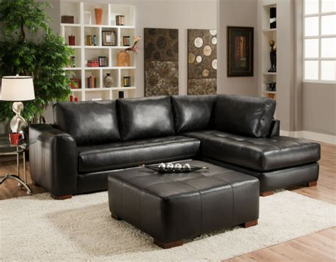 small black leather sectional sofa small sectional sofa with chaise choice for a