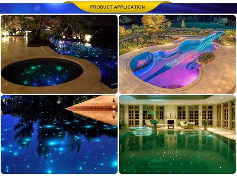 fiber optic pool lighting installation multi color led swimming pool light id 10142457 buy