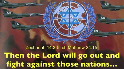 United Nations Nation 14 by Jesus Wars Against The United Nations For Israel