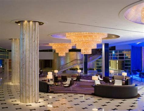 Hotel Lobbies Make Strong First Impressions with Marble