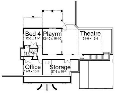 basement floor plan creator harthaven place house plan 7696 3 bedrooms and 2 5 baths the house designers