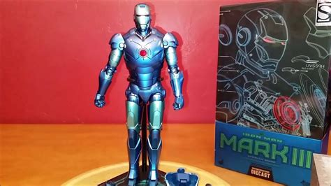 unboxing hot toys iron man mk stealth scale mms