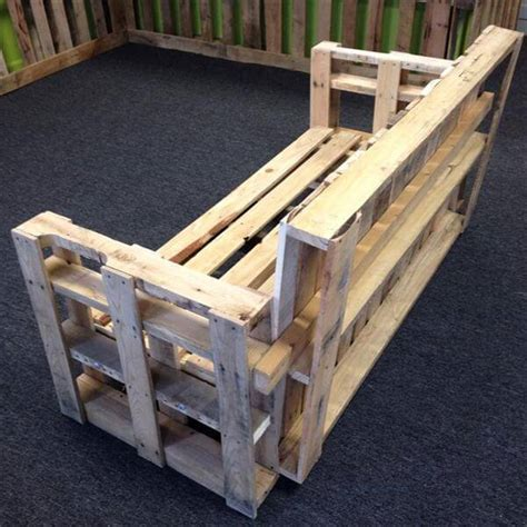 diy sofa bench diy sturdy handmade pallet bench sofa 101 pallets
