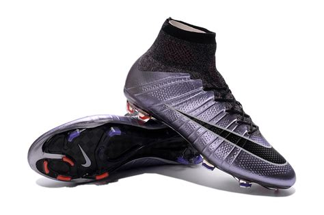 Nike Mercurial Liquid Chrome Turf Sepatu Futsal Replika Import cheap nike mercurial superfly fg liquid chrome lilac bright mango black black for 163 79 99