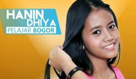 biografi hanin dhiya rising star 9 foto para peserta rising star indonesia terbaru 2018
