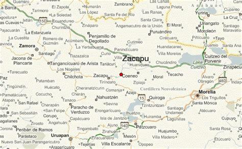 de michoacan mexico map zacapu location guide