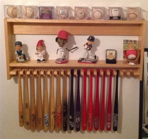 awesome mini bat holder with shelf from jet hawk s stadium