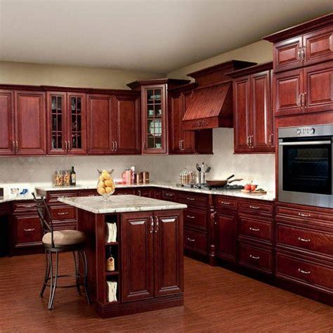 kitchen cabinet backsplash kitchen high quality cherry stained kitchen cabinets