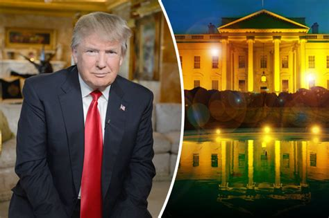 trump gold house us election 2016 could donald trump paint the white house