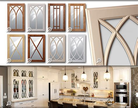 Mullion Doors For Cabinets by Cabinets Showplace Mullion Glass Doors