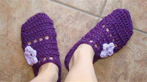 and easy crochet slippers free crochet pattern easy one slippers