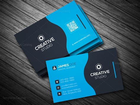 business card template eps business card template in eps format 000088 template catalog