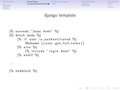 django template comment building pluggable web applications using django