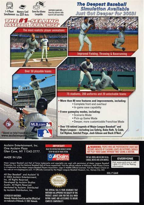 emuparadise upload all star baseball 2004 iso