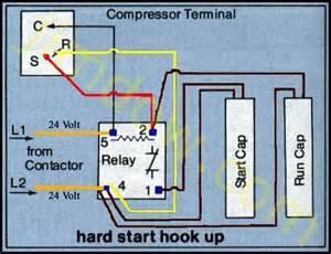 refrigeration single phase refrigeration compressor wiring diagram