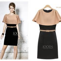 Womens dresses knee length casual dress for women designer slim womens