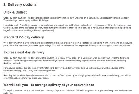 ecommerce delivery what do customers want econsultancy